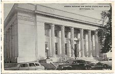 Federal Building and U.S. Post Office in Gettysburg PA Postcard