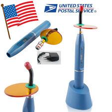 Blue Dentist Dental LED Curing Light Lamp 5W Wireless Cordless 1500MW Portable