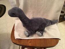 "Kohls Cares Plush 16"" Brachiosaurus Brontosaurus Gray Long Neck Dinosaur"