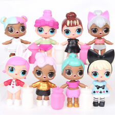 New 8 Pcs / Set L.O.L Surprise Ball Lil Sisters LOL Dolls Pets Toys Girls