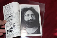 Rare 1982 Jerry Garcia Solo Ccoustic Program from The Capitol Theatre Passaic NJ