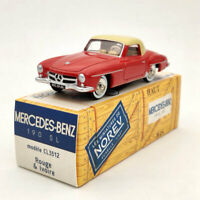 Norev 1:43 Mercedes Benz 190 SL Red CL3512 Diecast Models Limited Collection