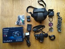 Panasonic LUMIX DMC-FZ45 14.1MP 24x Optical Zoom Digital Camera + Accessories