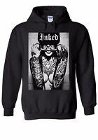 Sexy Tattoo Inked Girl Funny Hipster Men Women Unisex Top Hoodie Sweatshirt 905