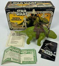 STAR WARS vintage 1977 Kenner 1st issue Patrol Dewback, complete, boxed