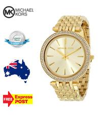 MICHAEL KORS Darci Glitz Gold Dial Pave Bezel Ladies Watch MK3191 Crystal