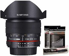 Samyang 8mm F3.5 CS II UMC AS Fisheye Hood Detachable Lens for Sony a Alpha DSLR