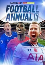 Racing Post Football Annual 2017/18 Football Outlook Form Guide Statistics book