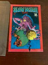 Slow Death 1 FN-VFN 1st Print Crumb Irons Osborne Hayes JaXon Underground [1970]