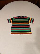 Boys Multi-Striped Ralph Lauren Shirt Guc Sz 4