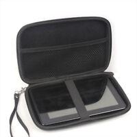 7 Inch Hard Shell Carry Bag Zipper Pouch Case For Garmin Nuvi TomTom Sat Nav GPS