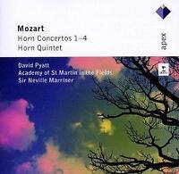 David Pyatt - Mozart : Horn Concertos Nos 1 - 4 (NEW CD)