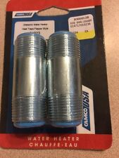 Camco 01023 2 Pack Dielectric Water Heater Heat Traps Flapper Style