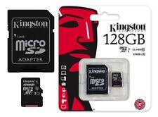 Kingston MicroSD Speicherkarte 128GB für Samsung Galaxy S7 S8 S9 Note 4 5 6 8 9