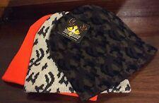 Hunting Hat 3 Pk. Hats Orange & Printed Hot Stuff Trophy Gear Nwt