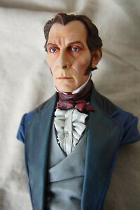 Curse of Frankenstein Hammer Horror Peter Cushing Unpainted Resin Bust Model Kit