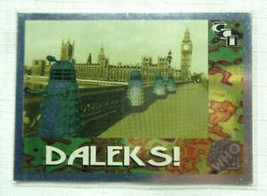 1 1994 Cornerstone DALEKS! Trading Card DOCTOR WHO Foil 2