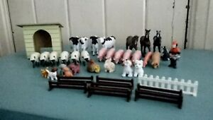 lovely set of toy farm animals in good condition
