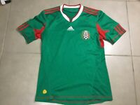 Mens Adidas 2010 World Cup Sz M Large Mexico Soccer Jersey green futbol