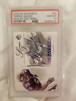 2003 SP Authentic Terrell Suggs Auto Rookie PSA 10 GEM MINT Sign of the times