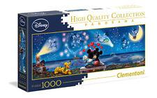 Clementoni Panorama Puzzle 1000 Teile Mickey und Minnie (39449)