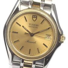 TUDOR Monarch 15733 Stainless/YG Quartz Men's Watch_451822