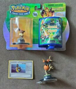 Pokemon Eevee Next Quest Trading Figure Game with Figure TCG Opened