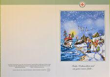 DGzRS Die Seenotretter Klappkarte Weihnachtskarte Grußkarte NEU