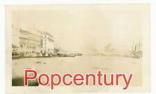 Philippines 1934 Vintage Photograph Manila City Pasig River Bridge View