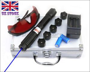 BX6 High Power 1MW 450nm Blue Laser Pointer Visible Lazer Pen Laser Torch UK