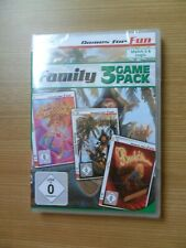 (PC) - GAMES FOR FUN: FAMILY - 3 GAME PACK