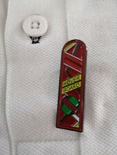 Hill Valley 2015 Marty McFly Hoverboard Pin Badge