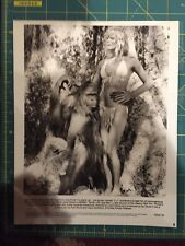 "Bo Derek 1981, ""Tarzan, The Ape Man"" movie screen production concept art photo"