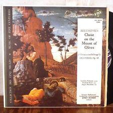 Josef Bloser Stuttgart Phil. Beethoven Christ on the mount of olives LP Vox M-