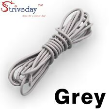 1 meters Gray 30AWG Flexible Silicone Wire Outer Diameter 1.2mm DIY Cable line