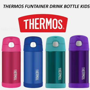 NEW Thermos Kids Drink Bottle Vacuum Flask Mug Funtainer Toddler + Straw Baby