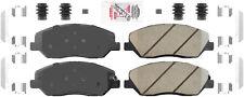 Disc Brake Pad Set-AmeriPlatinum Ceramic with Hardware Front Autopartsource