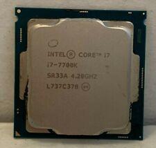 Intel Core i7-7700K Socket 1151 Quad Core CPU 4.20GHz SR33A Tested Processor