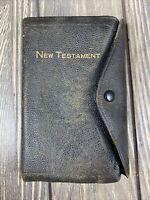 Holman New Testament Psalms Book AJ Holman Company Button 1956 Vintage