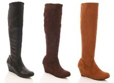 Standard Width (D) Textile Casual Boots for Women