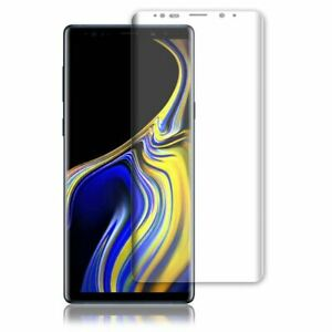 CLEAR CURVED SCREEN PROTECTOR GUARD FILM COVER FOR SAMSUNG GALAXY Note 9