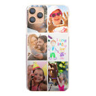 Personalised Phone Case For iPhone 13/12/11/MAX/XR, 1-6 Photo Collage Hard Cover