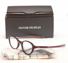 New Authentic Oliver Peoples Eyeglasses Frame Rowan Plastic Roc/Rose Japan