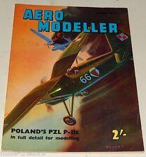 AERO MODELLER June 1960 Plans :  BRISTOL Monoplane SCOUT + PZL P-IIc + SKIP ...