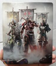 FOR HONOR New STEELBOOK RARE box collector STEEL CASE no game inside