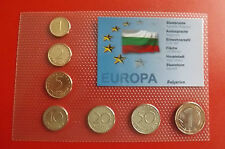 * Bulgaria KMS SET IN BLISTER * (alb-p1)