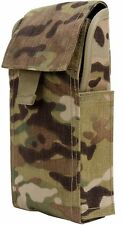 MultiCam Shotgun Ammo Pouch MOLLE Compatible Camo Airsoft Hunting Pouches