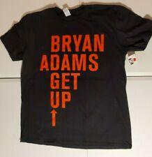 Bryan Adams Get Up Canada Tour Black  T Shirt  New Official XL