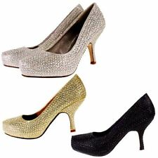 Special Occasion Kitten Synthetic Upper Heels for Women