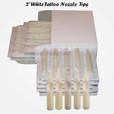 200 Disposable Tattoo Nozzles Tubes RT3 Tips RT FT Mag Kit uSelect sizes